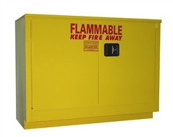 OSHA Approved flammable storage cabinet for under counter use