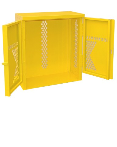 Charmant LP2 Steel   LP/Oxygen Storage Cabinet   Cabinet Holds 2 LP Tank Cylinders