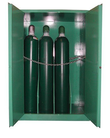 Mg109h Securall Oxygen Storage Cabinet For Osha Approved