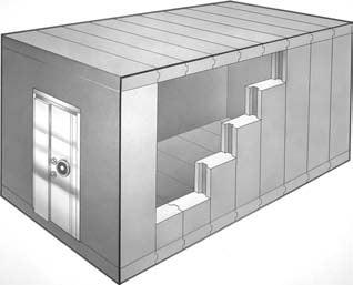 Class 3 Modular Vault Panels, TRTL-120 Security Vault Rooms