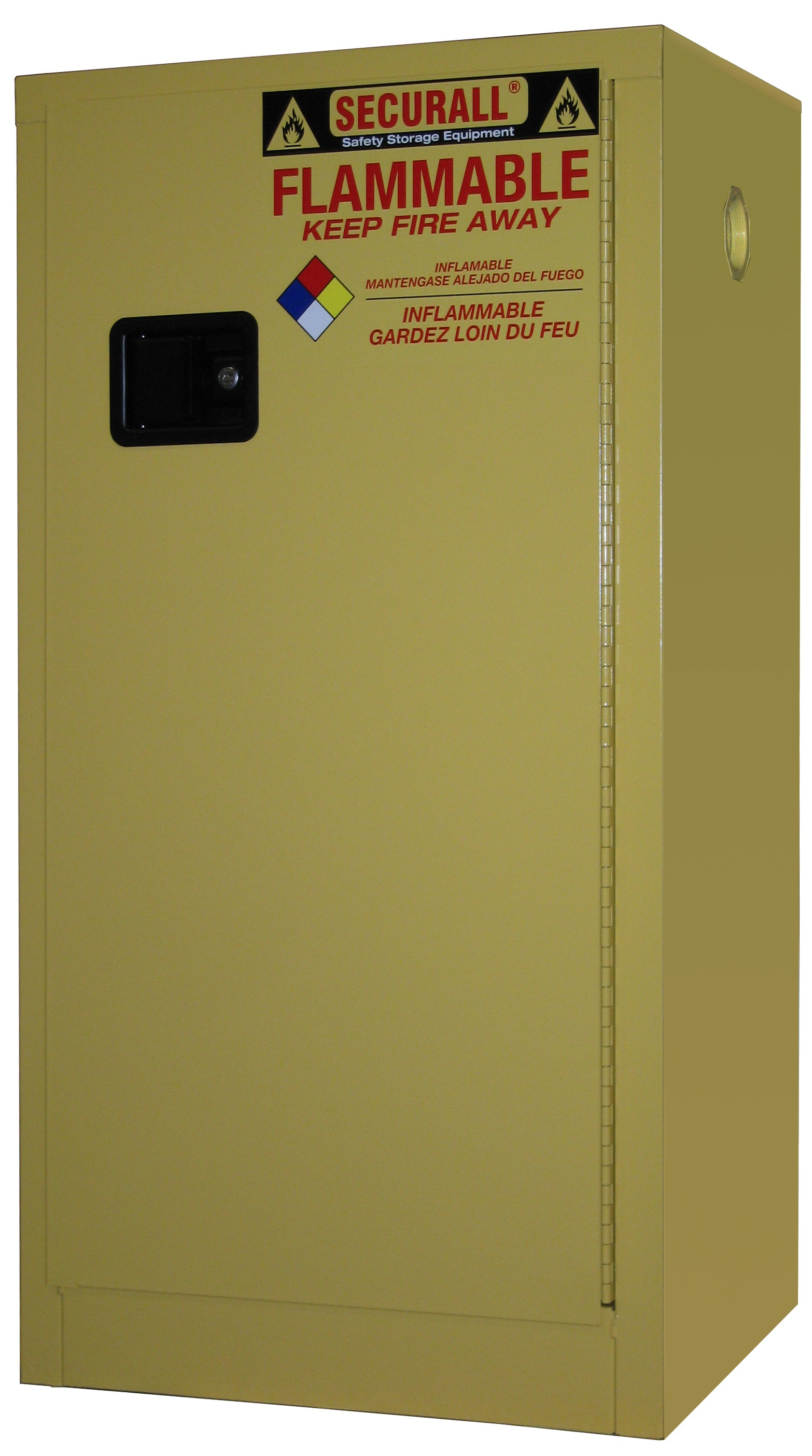 P120 - 20 Gallon Flammable Paint & Ink Storage Cabinet