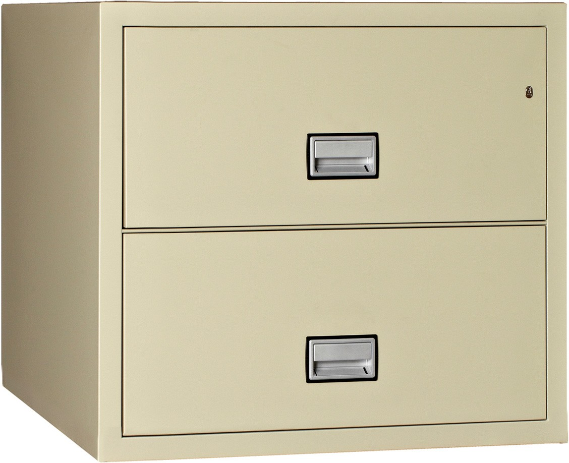 Phoenix Lateral 31 inch 2-Drawer Fireproof File Cabinet