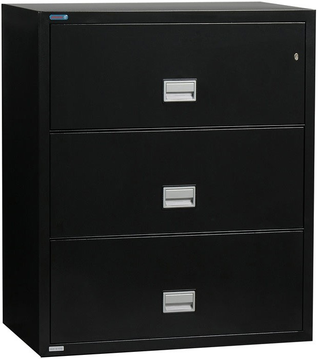 Phoenix Lateral 31 inch 3-Drawer Fireproof File Cabinet