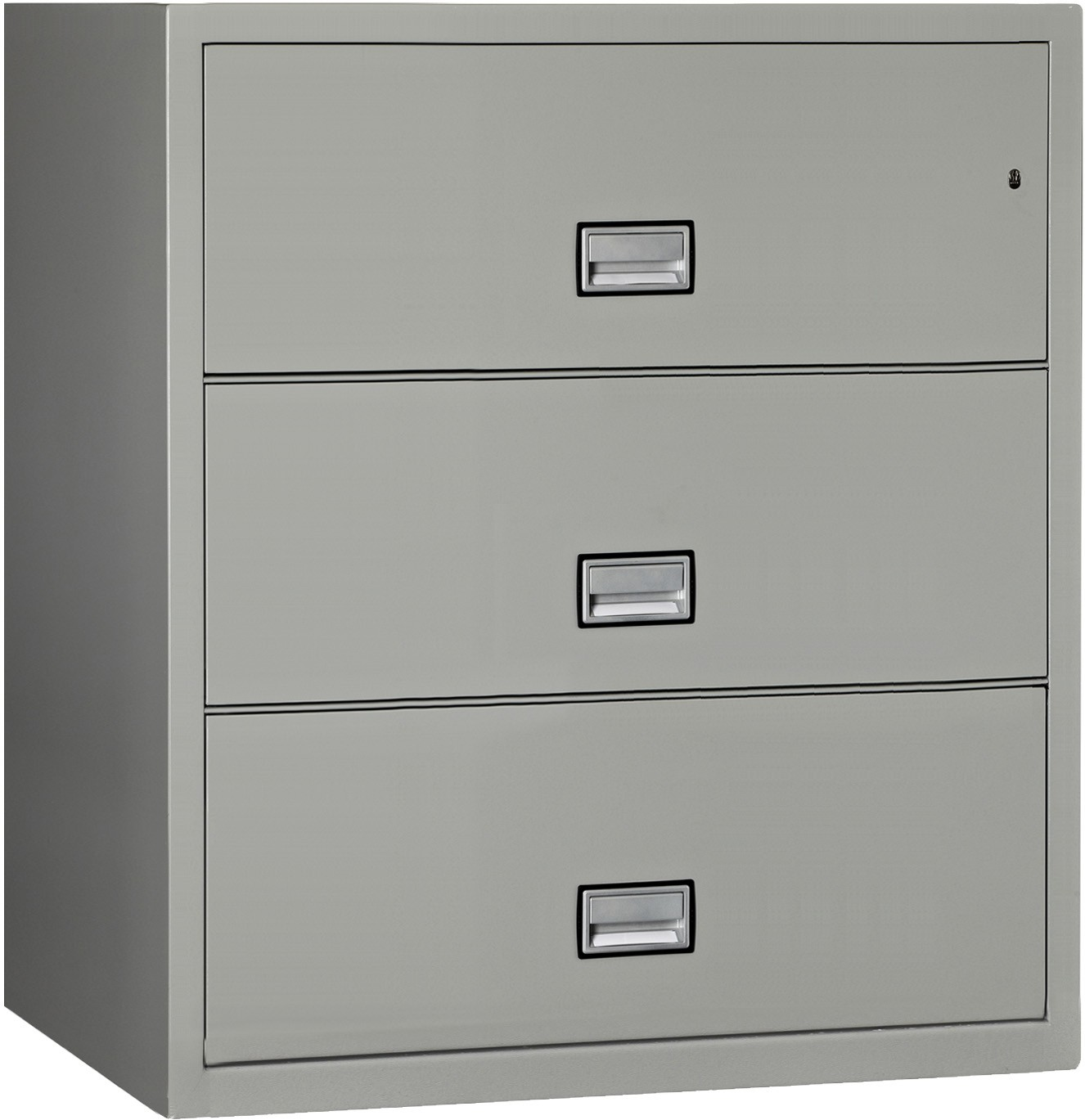 Phoenix Lateral 38 inch 3-Drawer Fireproof File Cabinet
