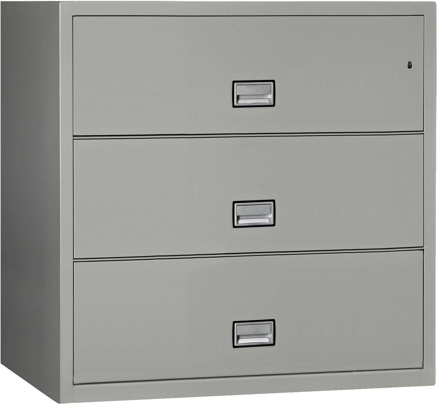 Phoenix Lateral 44 inch 3-Drawer Fireproof File Cabinet