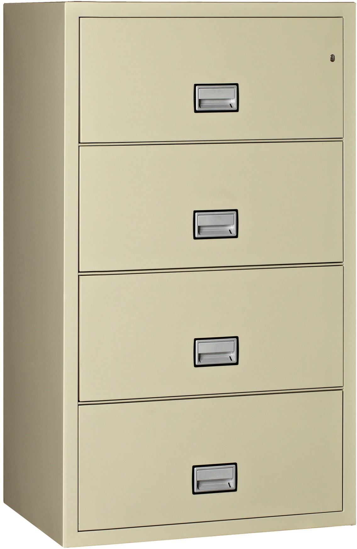Phoenix Lateral 31 inch 4-Drawer Fireproof File Cabinet
