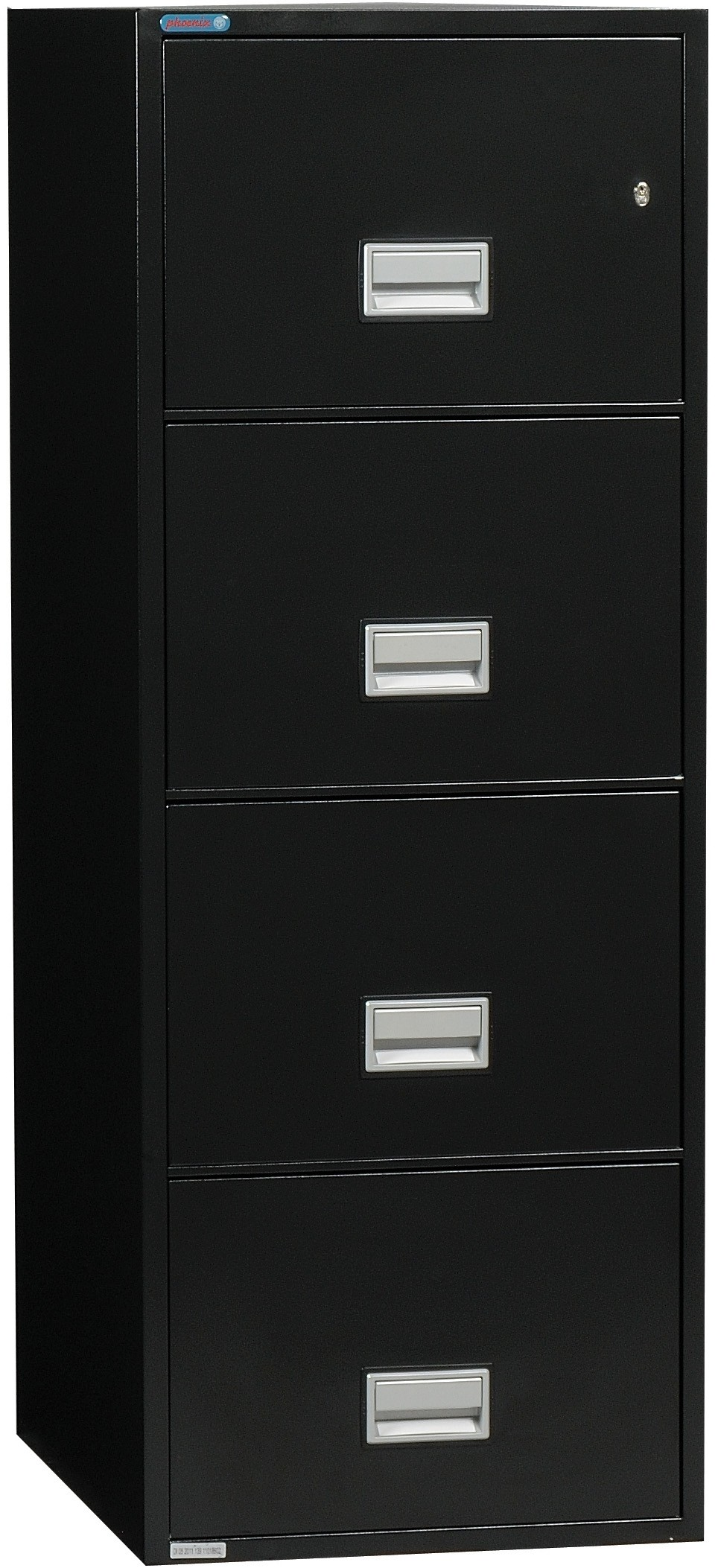 Phoenix Vertical 31 inch 4-Drawer Letter Fireproof File Cabinet