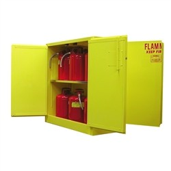 4DA345 - Flammable (Dual Access) Storage Cabinets - 45 Gal. Storage Capacity