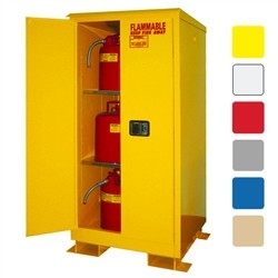 A160WP1 -  Weatherproof Flammable Storage Cabinet - 60 Gal. Self-Latch Standard 2-Door