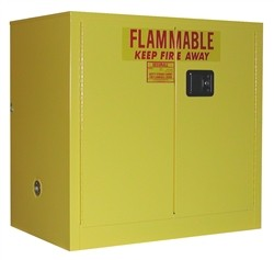 Flammable Storage Cabinet for Liquids, OSHA Approved Locker