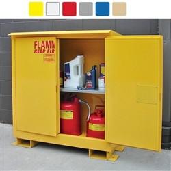 A345WP1 - Weatherproof Flammable Storage Cabinet - 45 Gal. Self-Close, Self-Latch Safe-T-Door