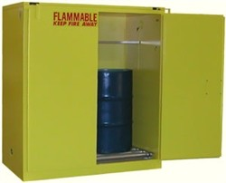 V3110 - 120 Gallon Flammable Drum Storage Cabinet