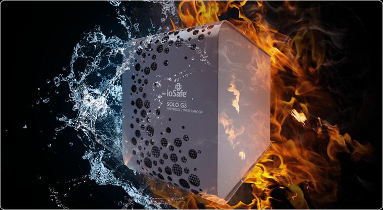Solo G3, 3TB Fireproof / Waterproof External Hard Drive