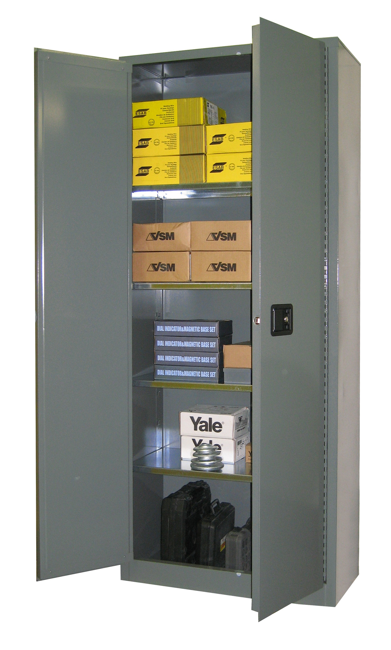 SS184 - Industrial Storage Cabinet - 31 Cubic Feet Capacity