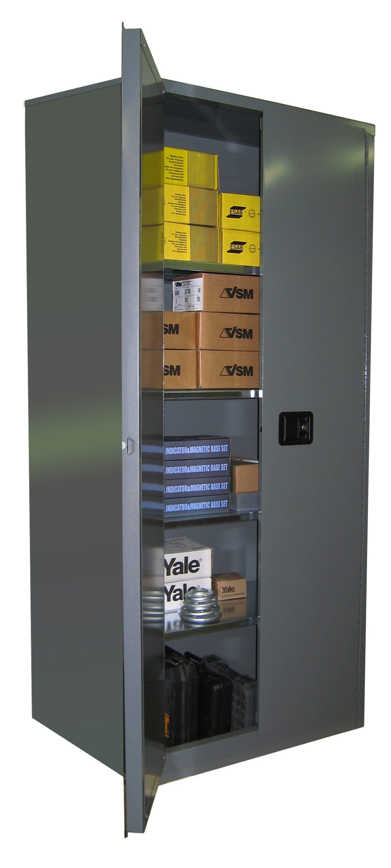 SS284 - Industrial Storage Cabinet - 42 Cubic Feet Capacity