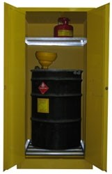 V160 - 60 Gallon Flammable Drum Storage Cabinet