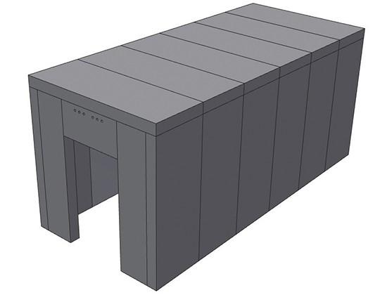 Armorstor MJ1010 Medical Cannabis Modular Vault Package