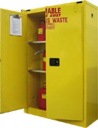 W3045 - 45 Gallon Hazardous Waste Storage Cabinet