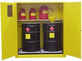 W3080 Hazardous Waste Storage Cabinet