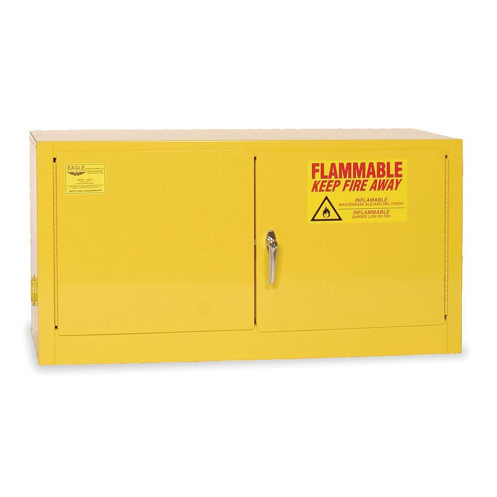 WMA318 - Stackable Cabinet - 18 Gal. Self-Close, Self-Latch Safe-T-Door