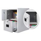 Hidden Fireproof Safe in a Fireproof file cabinet