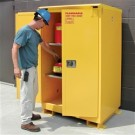 A390WP1 - Weatherproof Flammable Storage Cabinet - 90 Gal. Self-Close, Self-Latch Safe-T-Door