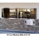 Bullet Resistant Windows and Glass (BR Glass) for Drive up, Drive Thru Lanes