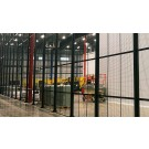 8x8 ft. DEA-MiniCage™ is a DEA Approved Drug Storage Cage w/ Swinging Door