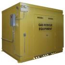 Gas & Emergency Rescue Building w/ Double Door Entry