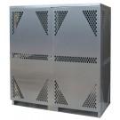 LP16S - LP/Oxygen Storage Cabinet - 16 Cyl. Horizontal Standard 2-Door