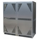 LP16 - Vertical - LP/Oxygen Storage Cabinet - 16 Cyl. Vertical Standard 2-Door