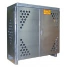 LP2S - LP/Oxygen Storage Cabinet - 2 Cylinder Storage Capacity