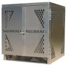 LP4S - LP/Oxygen Storage Cabinet - 4 Cylinder Storage Capacity