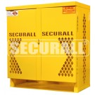 LP4-Steel - LP/Oxygen Storage Cabinet - 4 Cyl. Horizontal Standard Door