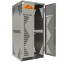 OG10 - LP/Oxygen Storage Cabinet - 5-10 Cyl. Vertical Standard Door