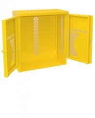 LP2-Steel - LP/Oxygen Storage Cabinet - Cabinet holds 2 LP Tank Cylinders