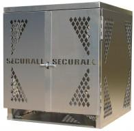 LP4 - Vertical - LP/Oxygen Storage Cabinet - 4 Cyl. Vertical Standard Door