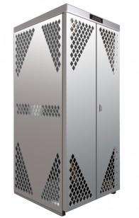 LP8 - LP/Oxygen Storage Cabinet - 8 Cyl. Horizontal Standard Door