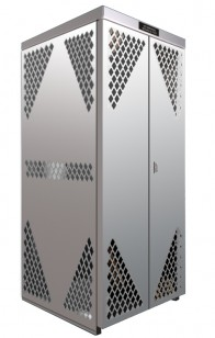 LP8S - Vertical - LP/Oxygen Storage Cabinet - 8 Cyl. Vertical Standard Door