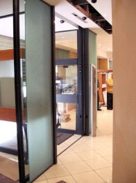 Gunnebo SliSec Security Doors, Noiseless automated sliding doors