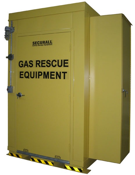 Gas & Emergency Rescue Locker