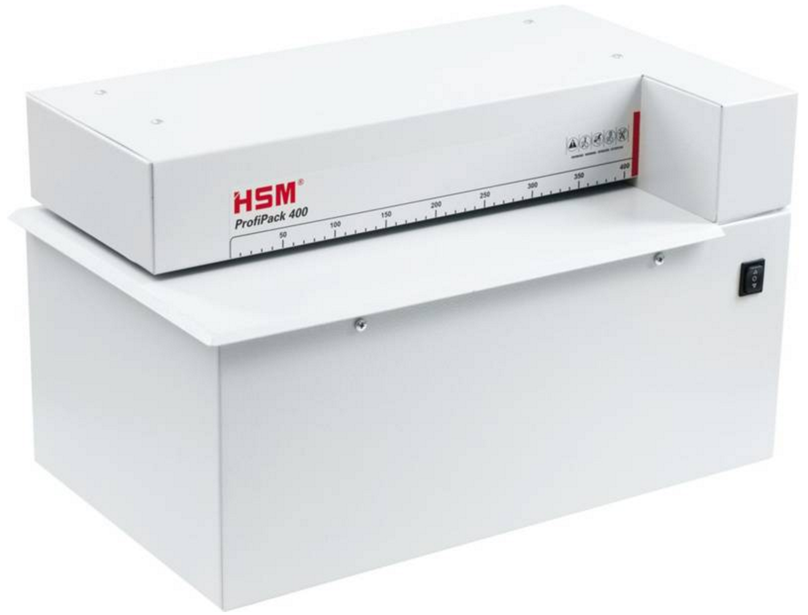 HSM ProfiPack 400 Cardboard Shredder for Upcycling Shipping & Packing Material